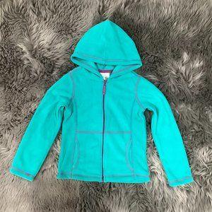 Toughskins Girls Zip-Up Sweater: Size M
